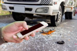 what to do after a truck accident in california